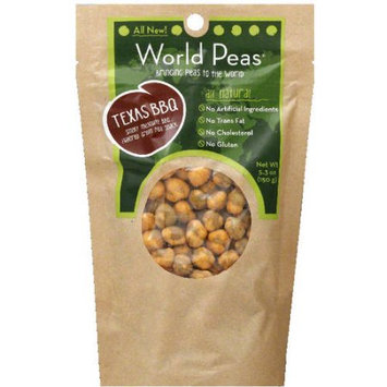 World Peas Texas BBQ Peas, 5.3 oz, (Pack of 6)