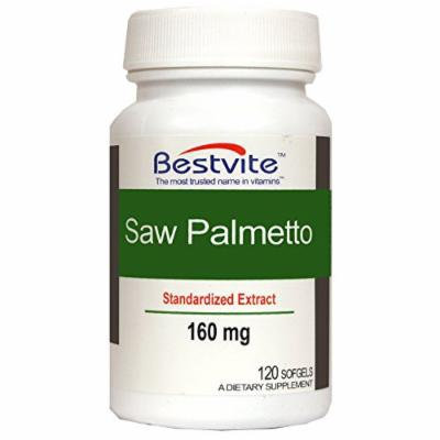 Saw Palmetto 160mg (120 Softgels)