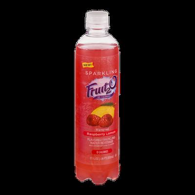 Fruit2O Flavored Sparkling Water Beverage Raspberry Lemon