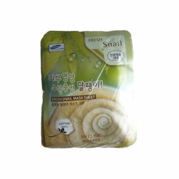 3W Clinic - Mask Sheet - Fresh Snail - 10pcs