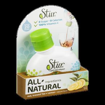 Stur All Natural Liquid Water Enhancer Real, Brewed Tea + Lemon