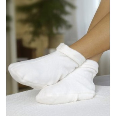 Spa Necessities Moist Heat Therapy Warming Foot Wrap