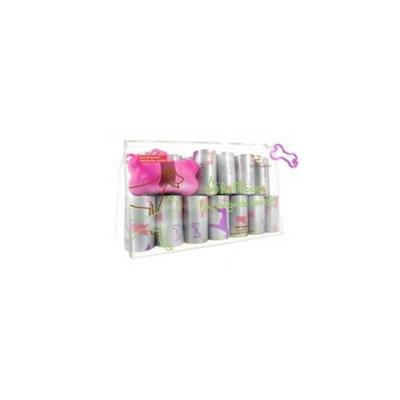 Best Pet Supplies SDP-3601 Pink Dog on Silver - 24Rolls-Bag