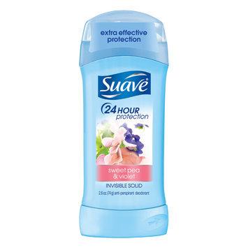 Suave® Sweet Pea & Violet Invisible Solid Anti-Perspirant Deodorant