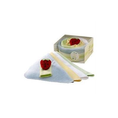 Lambs & Ivy Yum Yum Mini Cake Gift Set - Blue