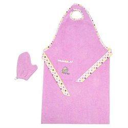 Hamco Pink Staydrya ¢ Bath Towel Apron and Wash Mitt