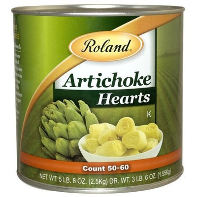 Roland Artichoke Hearts, 5-Pounds 8-Ounce Can