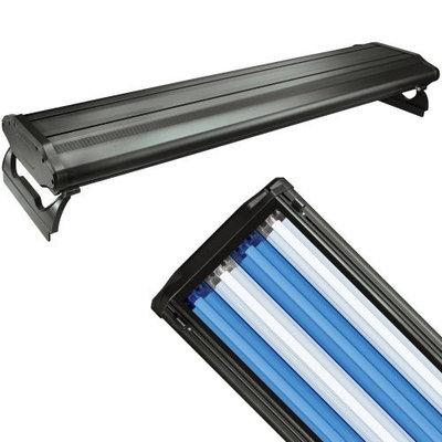 Wave Point WavePoint 48-Inch 216-Watt 4 Bulb High Output T-5 Lighting System, Black
