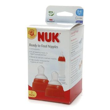 NUK Ready To Feed Nipples