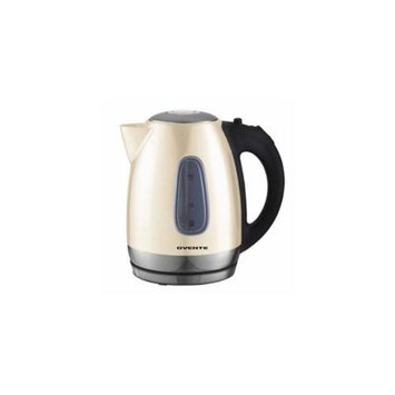 Ovente KS96BG 1. 7L Cord-Free Stainless Steel Electric Kettle - Beige
