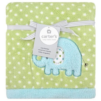 Triboro Quilt Co. Carter's Elephant Valboa Blanket