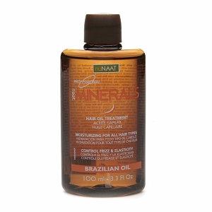 nuNAAT naat Professional Minerals Hair Oil Treatment Brazilian Oil