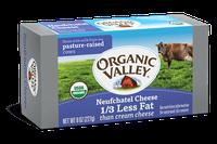 Organic Valley® Neufchatel Cheese