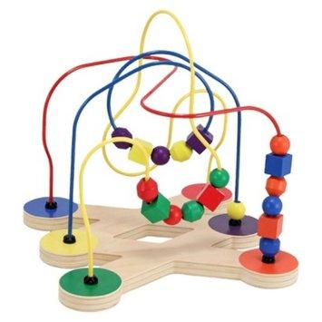Melissa and Doug Classic Toy Bead Maze 2+