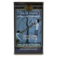 Chloe Farms 100% Pure Kalamata Olive Oil, 3-Liter Tin