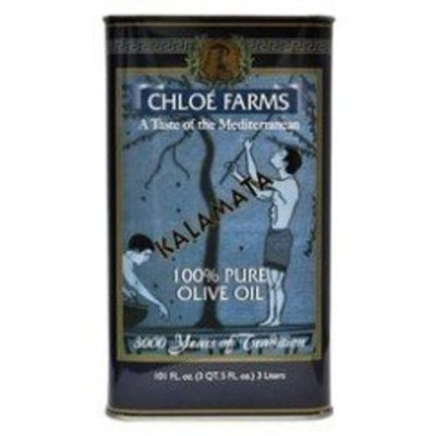Chloe Farms 100% Pure Kalamata Olive Oil, 3-Liter Tin