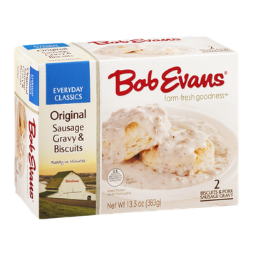 Bob Evans Original Sausage Gravy & Biscuits - 2 CT