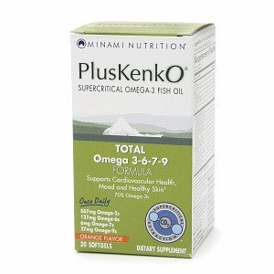 Minami Nutrition PlusKenkO Omega-3 Fish Oil