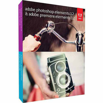 Adobe Photoshop Elements 12 and Premiere Elements 12 (PC) (Digital Code)