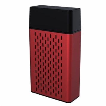 Hype Aluminum Bluetooth Stereo Speaker, Red, 1 ea
