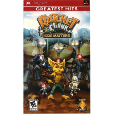 Sony Ratchet & Clank Size Matters - Action/adventure Game - Psp
