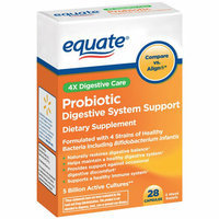 Equate 4X Digestive Care Probiotic Capsules