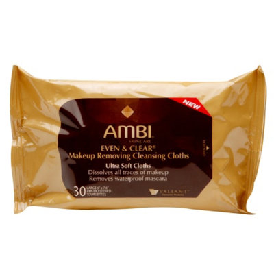 Ambi Even & Clear Makeup Removing Cleansing Cloths
