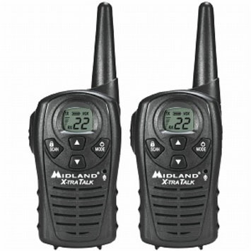 Midland 18 Mile GMRS Radio 2 Pack