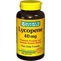 Good and Natural Good 'N Natural - Lycopene Once Daily Formula 40 mg. - 60 Softgels