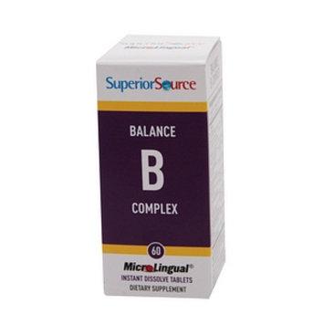 Superior Source Balance B Complex with Extra Folic Acid & Biotin