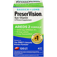 Bausch + Lomb Bausch & Lomb PreserVision AREDS 2 Eye Vitamin And Mineral Supplement