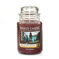 Yankee Candle Mountain Lodge Large Jar Candle, Fresh Scent