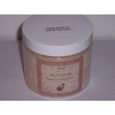 Jenteal Soaps Foaming Bath Salts, 16oz-Almond