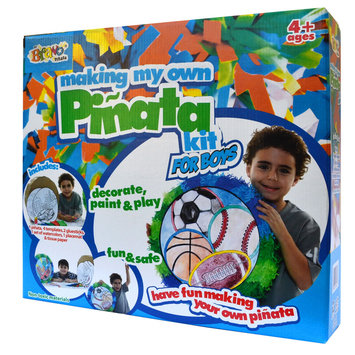 Playworld Making My Own Pinata Race Car and Sports Ball Kit