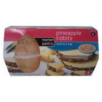 market pantry Market Pantry 4-pk. Pineapple Tidbits Fruit Cups 4-oz.