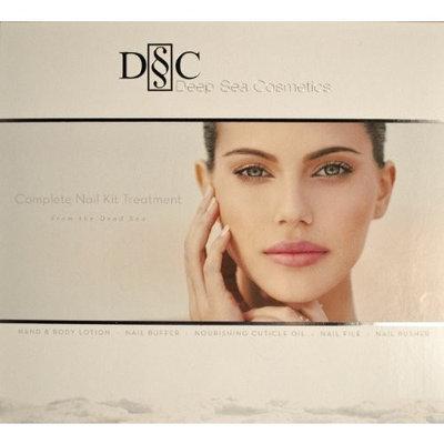 Deep Sea Cosmetics Dead Sea DSC Platinum Manicure Nail Kit Set