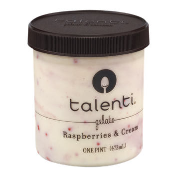 Talenti Raspberries & Cream Gelato