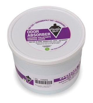 Tough Guy Odor Absorber Gel Sponge, Size 1 lb, PK 6