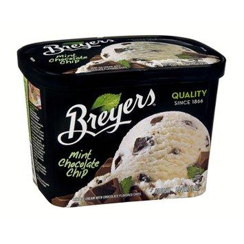 Breyers Mint Chocolate Chip Ice Cream 48 oz