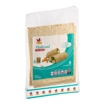 Ahold Flatbread Multigrain - 5 CT