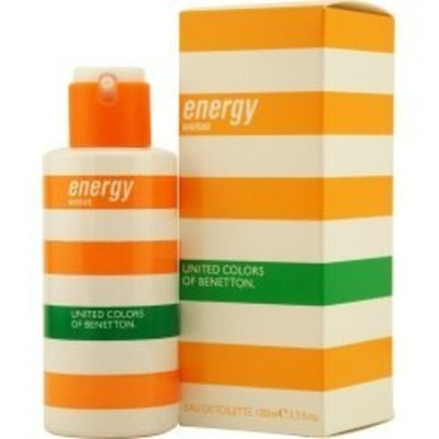 Benetton Energy By Benetton Eau De Toilette Spray 3.3 Oz For Women