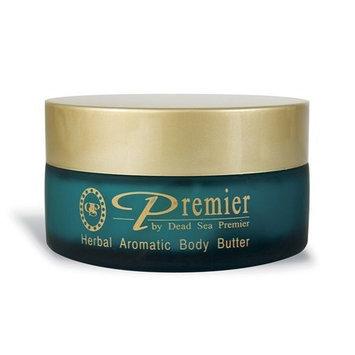 Dead Sea Premier Premier Dead Sea Body Butter, Green, Herbal, 5.9175-Fluid Ounce