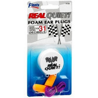 Flents Real Quiet! Corded Foam Ear Plugs for Racing, 1 Pair with Case