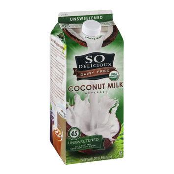 So Delicious Coconut Milk Dairy Free Unsweetened