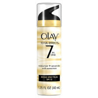 Olay Total Effects 7 in 1 Moisturizer + Serum Duo with Sunscreen Broad Spectrum SPF 15, 1.35 fl oz