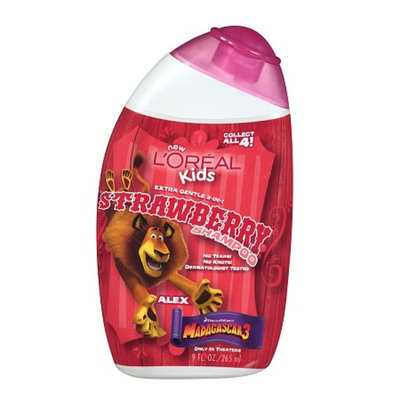 L'Oréal Paris Kids Madagascar 3 Extra Gentle 2-in-1 Shampoo Strawberry