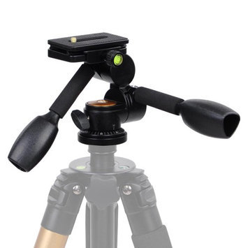 Yescomusa Oem 360 Swivel Ball Head w/ Quick Release Plate Double Handle F Tripod DSLR Camera