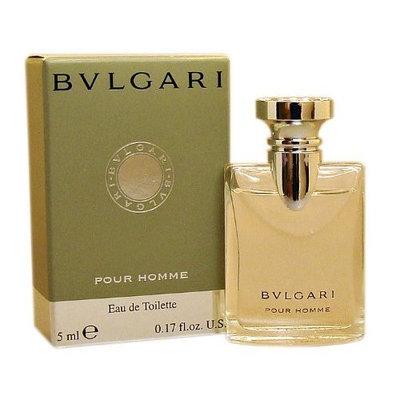 Bvlgari Pour Homme by Bvlgari for Men 0.17 oz Eau de Toilette Miniature Collectible