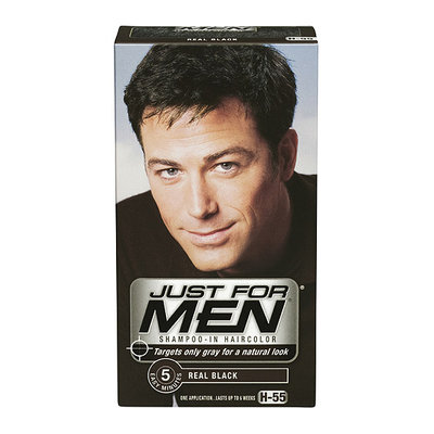 Just For Men Shampoo-In Hair Color Real Black