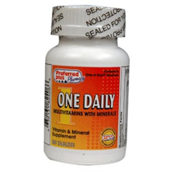 One Daily MultiVitamin with Minerals Tablets 60 ea